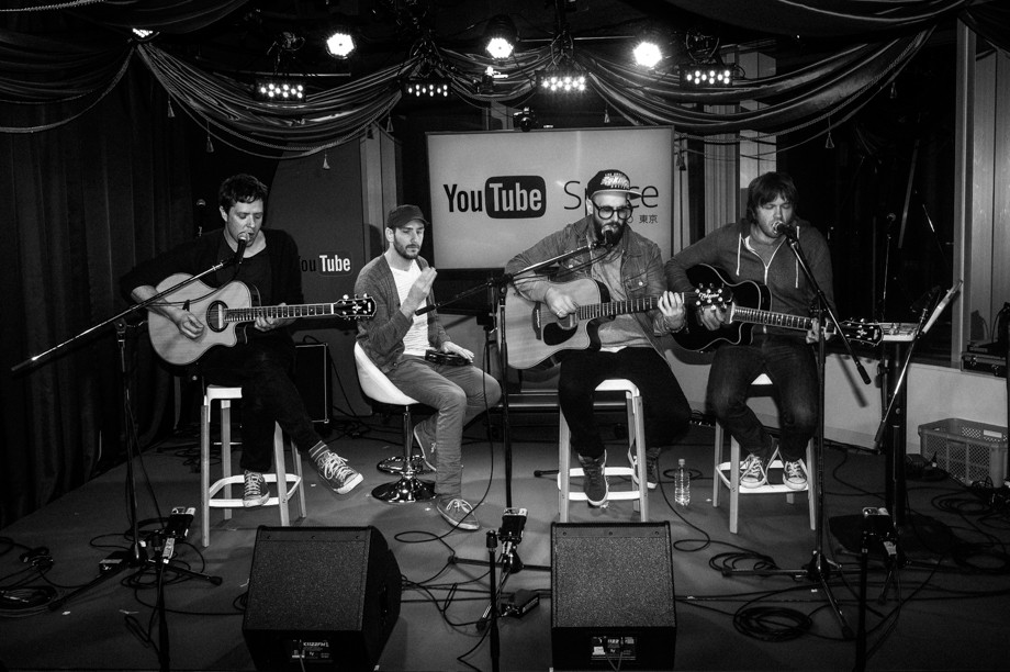 OKGO at YouTube Space in Tokyo