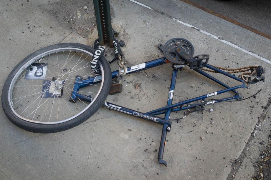 Bike Parking in NYC