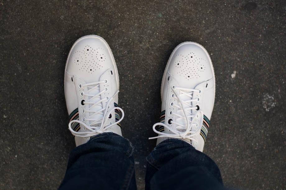 Paul Smith White Rabbit Sneakers