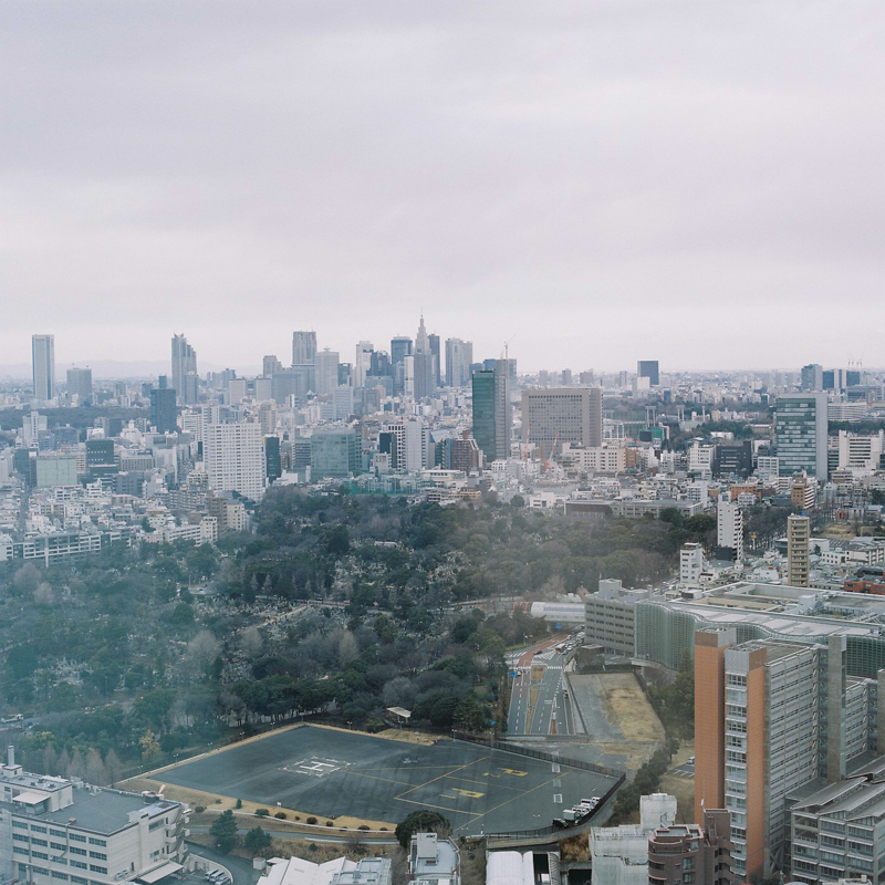 Tokyo View from Roppongi Hills