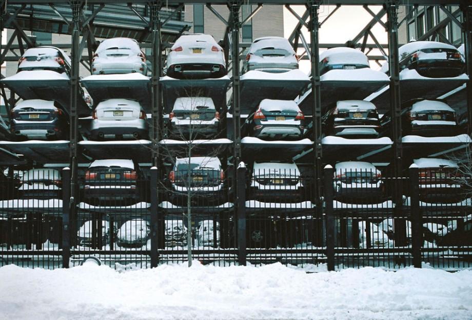 Snowy NYC