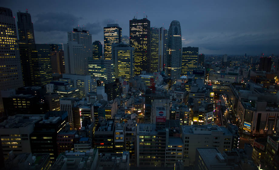 Shinjuku without Neon