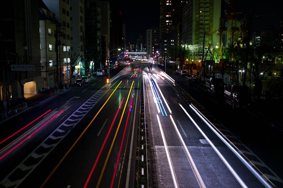 Photographing Lightrails