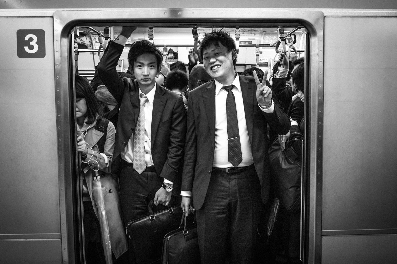 Tokyo Open Train Door