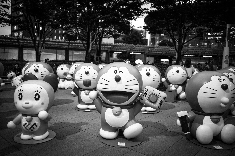 Doraemon at Roppongi Hills
