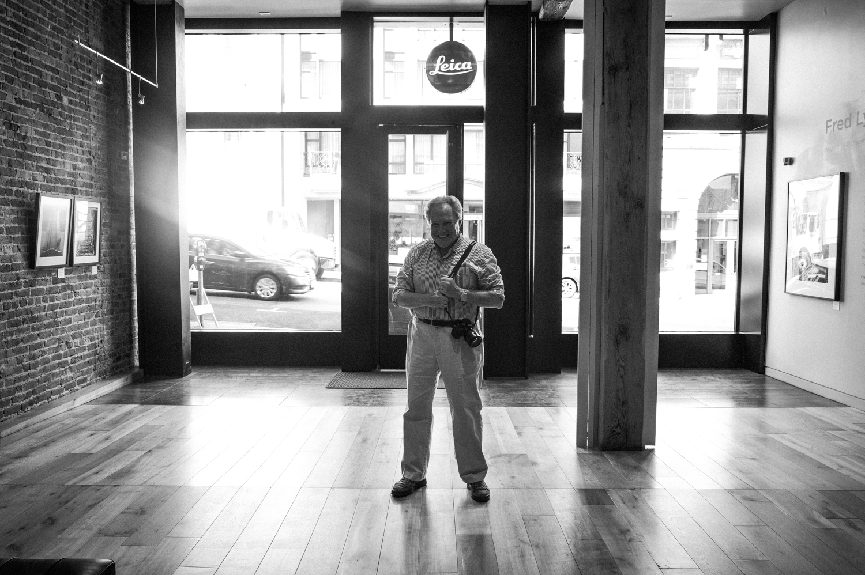 Richard Kashnow at Leica San Francisco