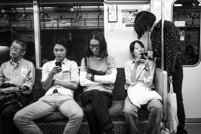 Train to Shibuya
