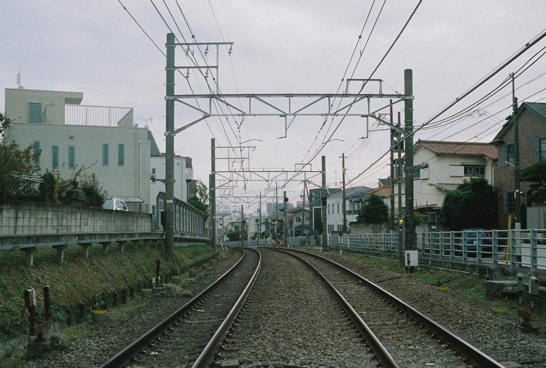 Tokyo Toyoku Line Train Tracks