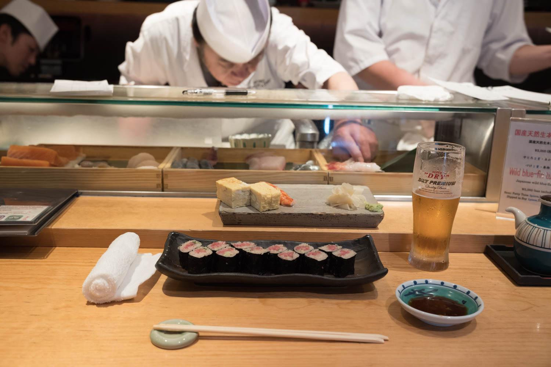 Narita Airport Sushi