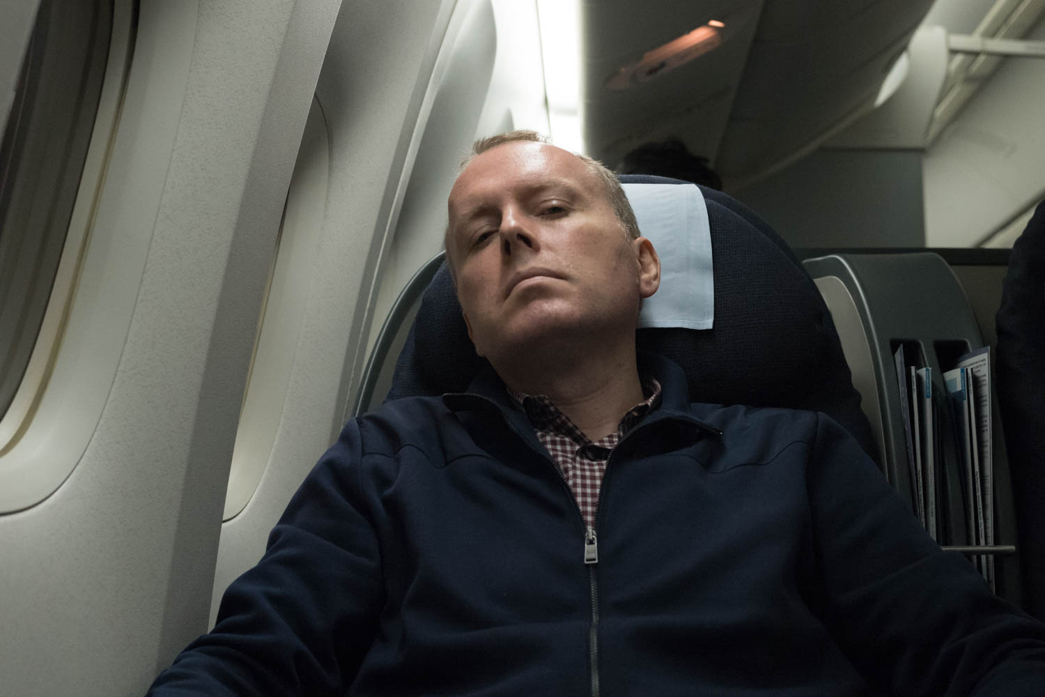 Dave settling in for a long haul