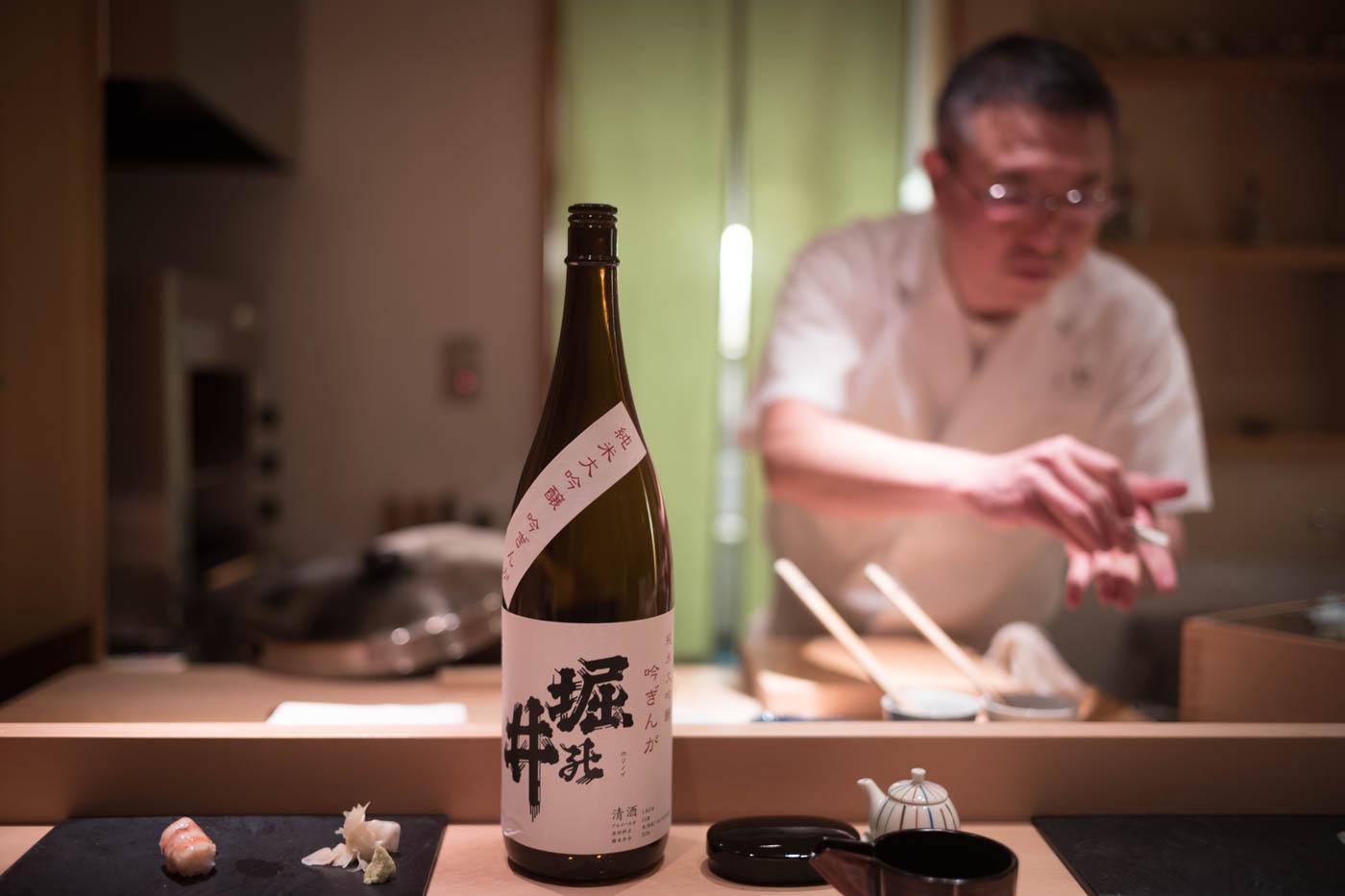 Sushi in Tokyo