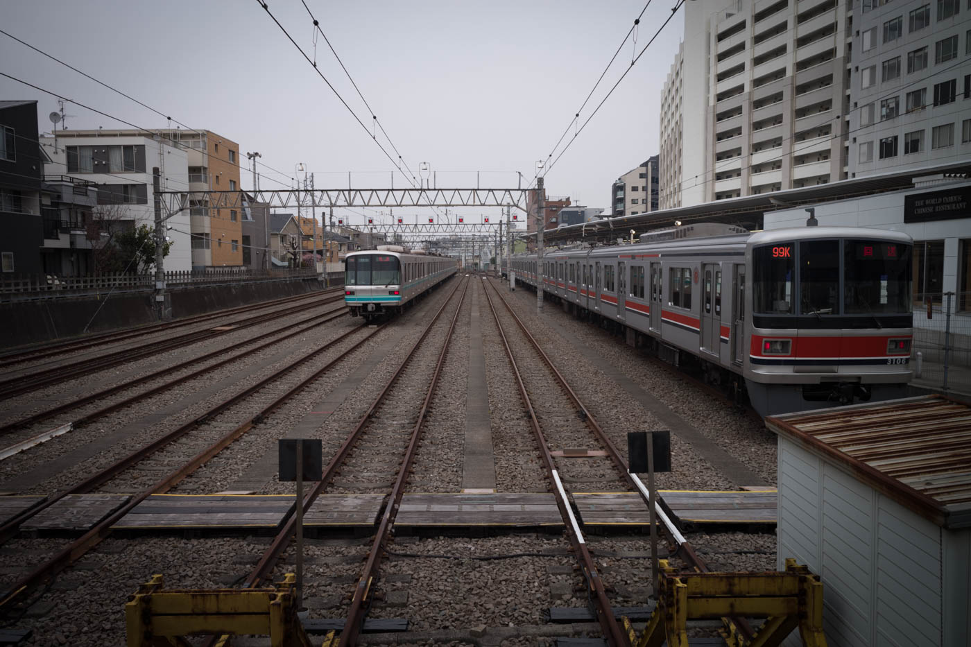 Okusawa Train Lines