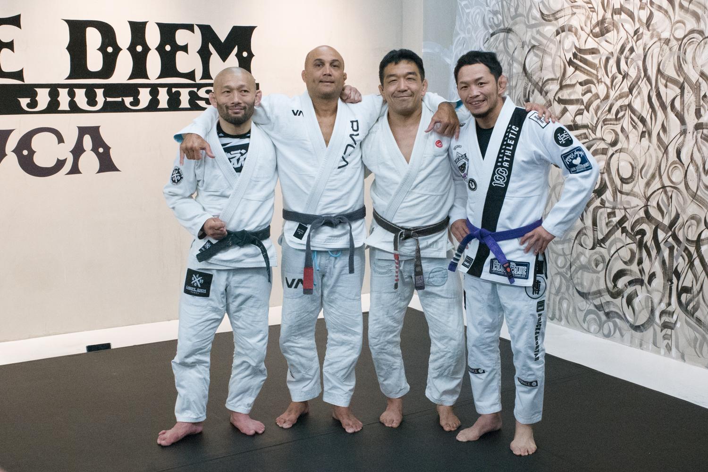 Carpe Diem Brazilian Jiu-Jitsu Jiyugaoka BJ Penn Caol Uno Yuki Nakai