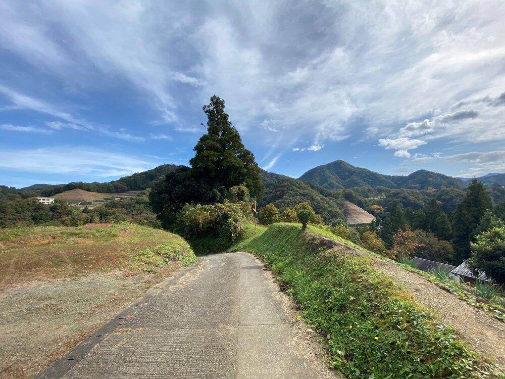 Mountains outside of Tokyo