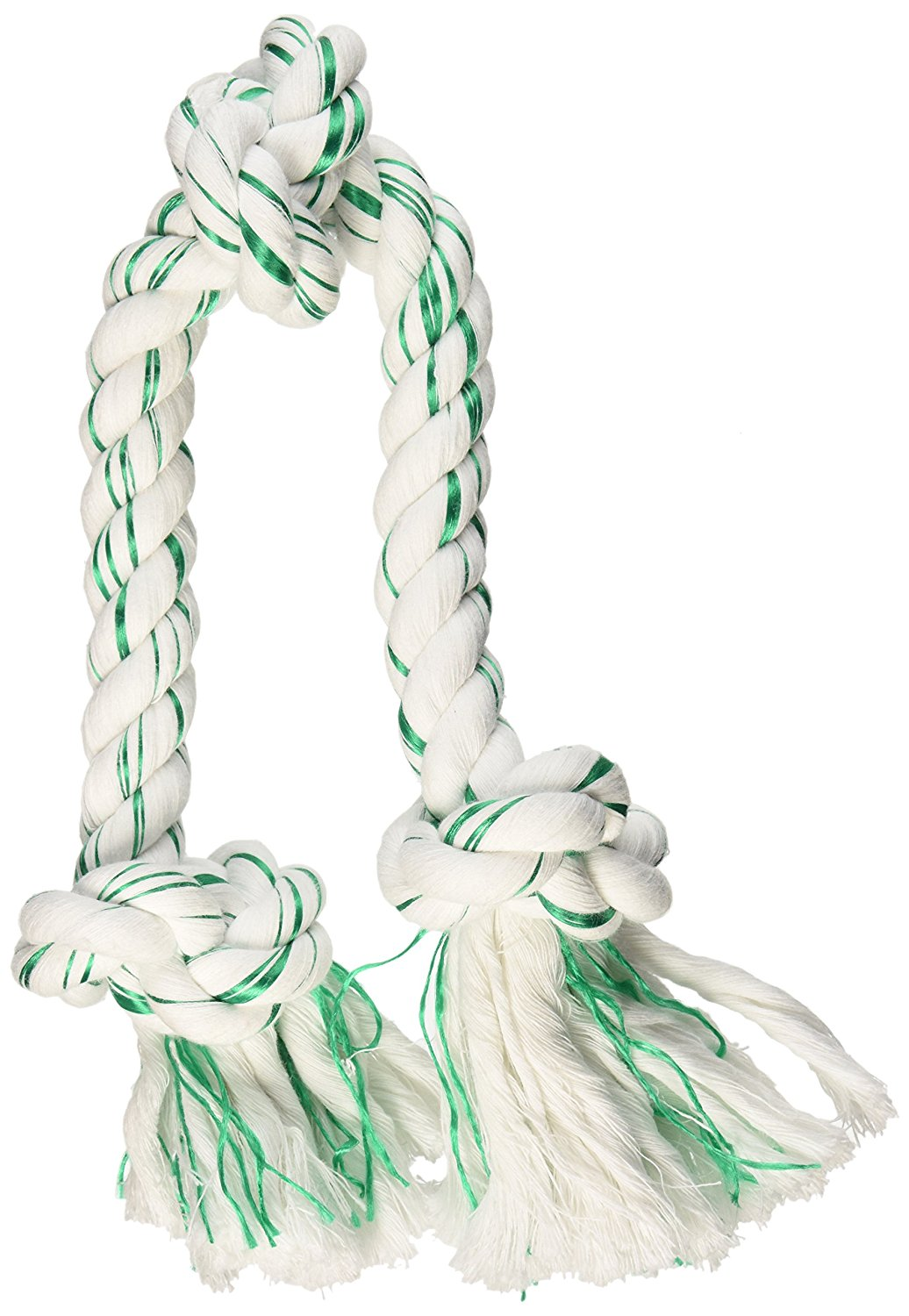 Booda Fresh N Floss 3 Knot Tug Rope Dog Toy