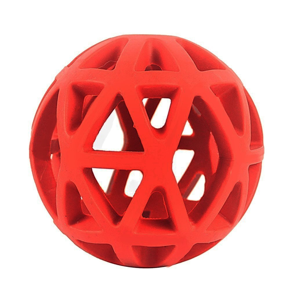 Pet Hol-ee Roller Dog Ball, Treat Ball for Dogs Training Chewing Fetching Teething 3.5""