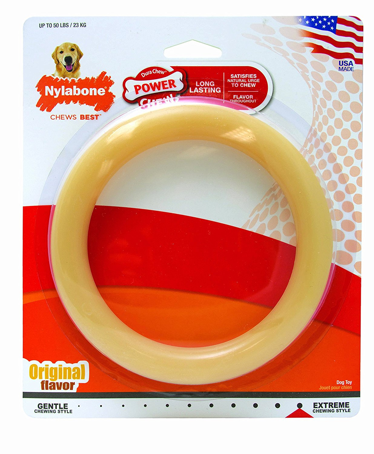 Nylabone Ring Dog Toy