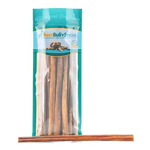 Odor-Free Angus Bully Sticks by Best Bully Sticks - Made of All Natural, Free Range, Grass Fed Angus Beef - Hand-inspected and USDA/FDA Approved