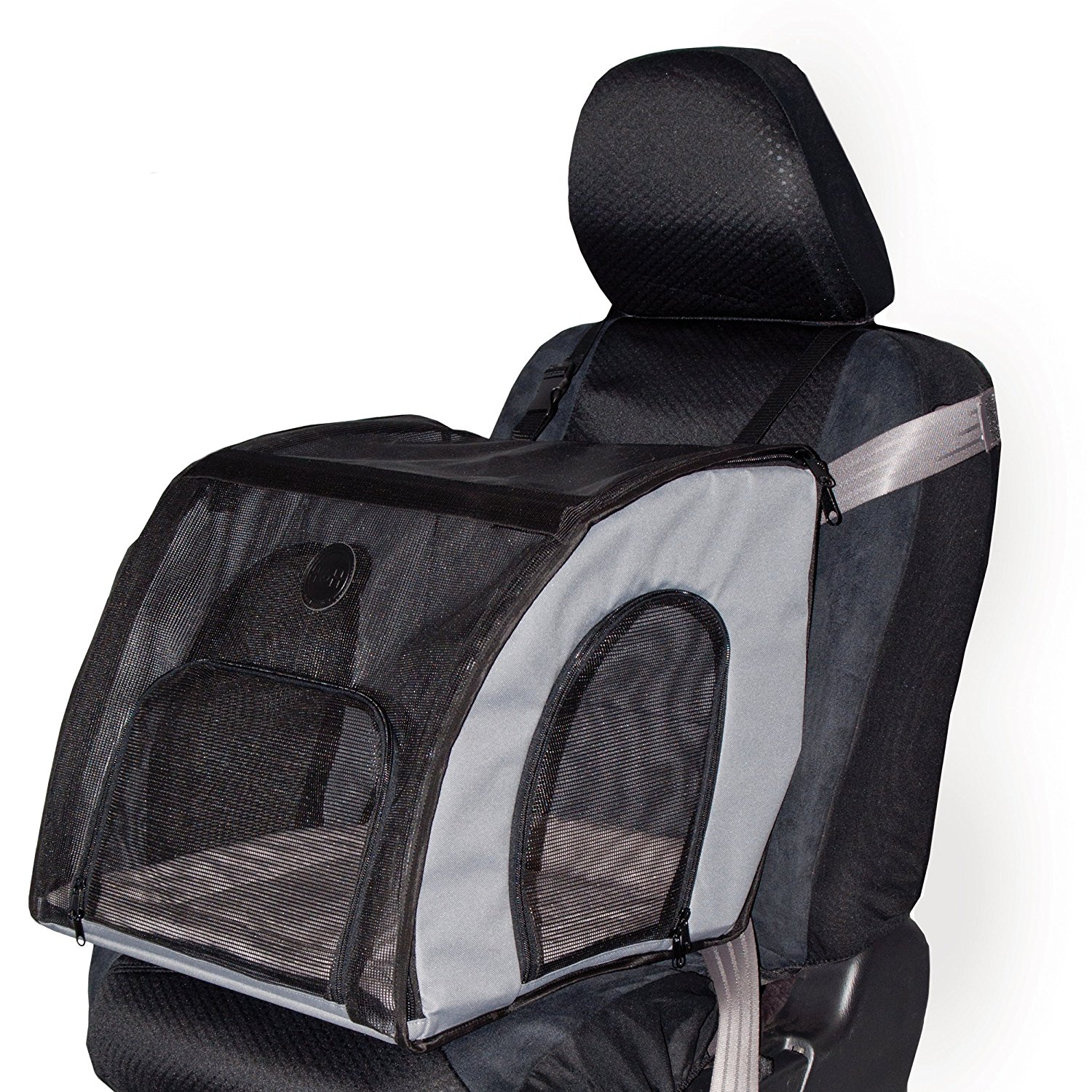 K&H Manufacturing Travel Safety Carrier - Gray