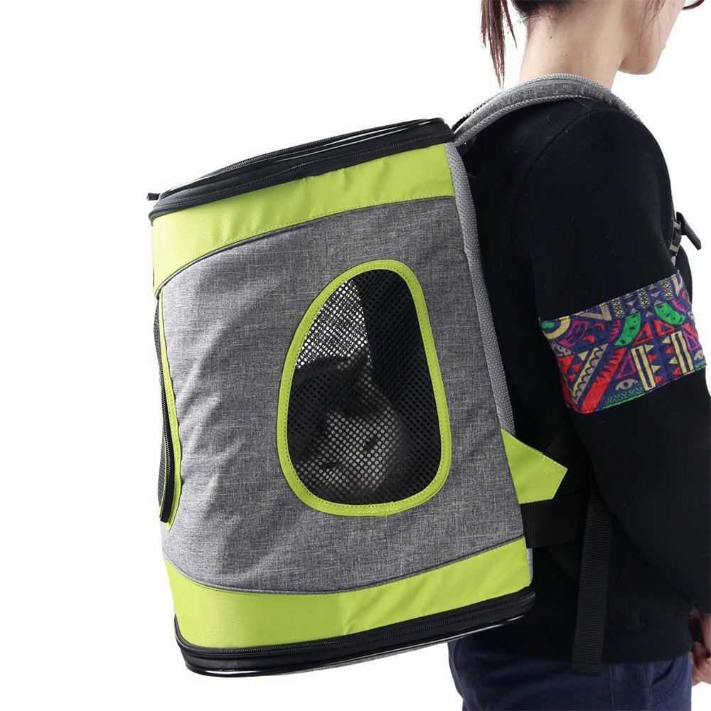Petsfit Comfort Dogs Carriers Backpack For Cat Or Dog Up To 15lbs,Go For A Walk, Hiking And Cycling