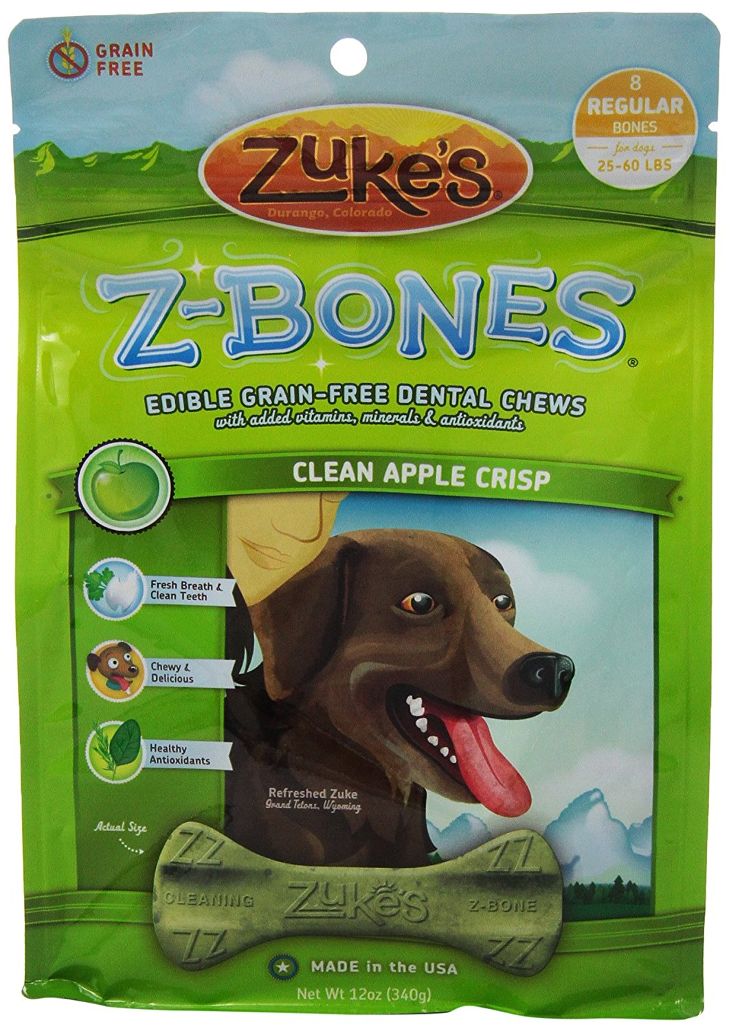 Zuke's Z-Bones Dog Dental Chews