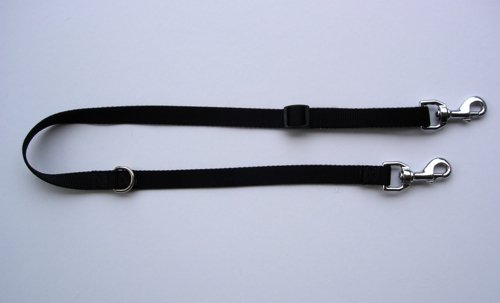 Brown Nylon Station Lead Small