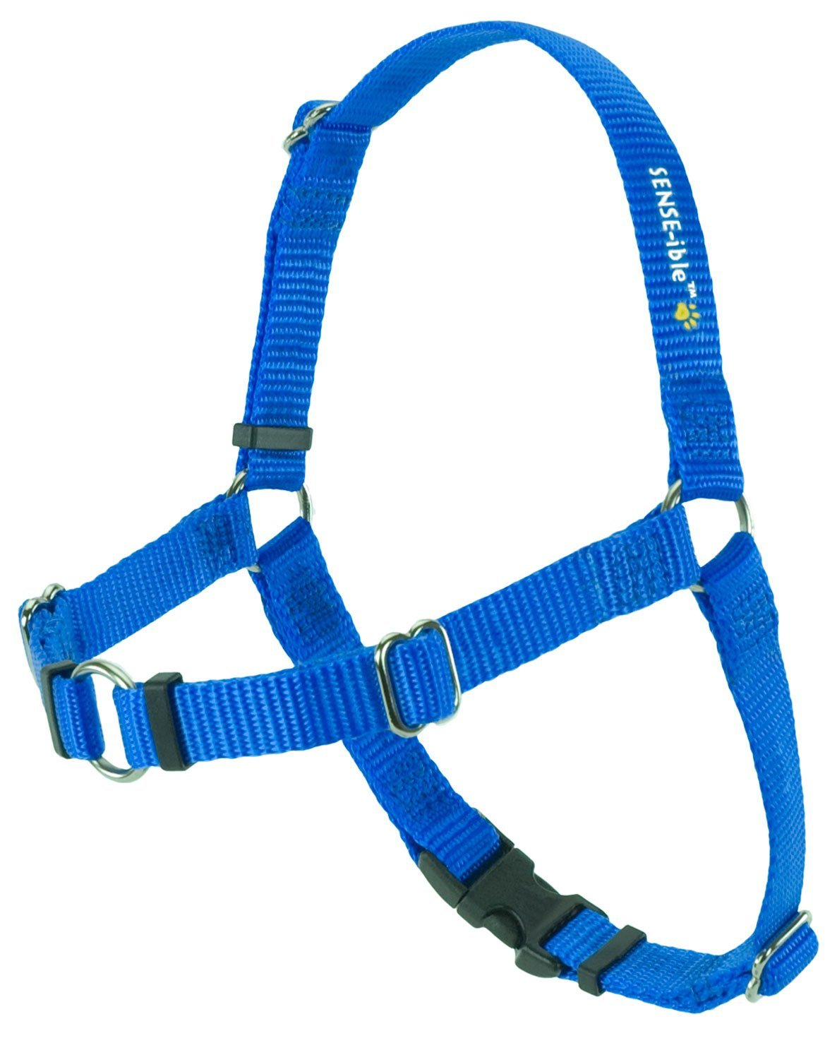 SENSE-ible No-Pull Dog Harness - Blue Small by Softouch