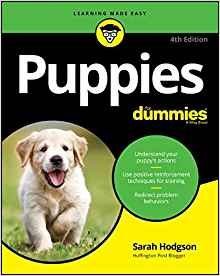 The 4th edition of Puppies for Dummies is out now!