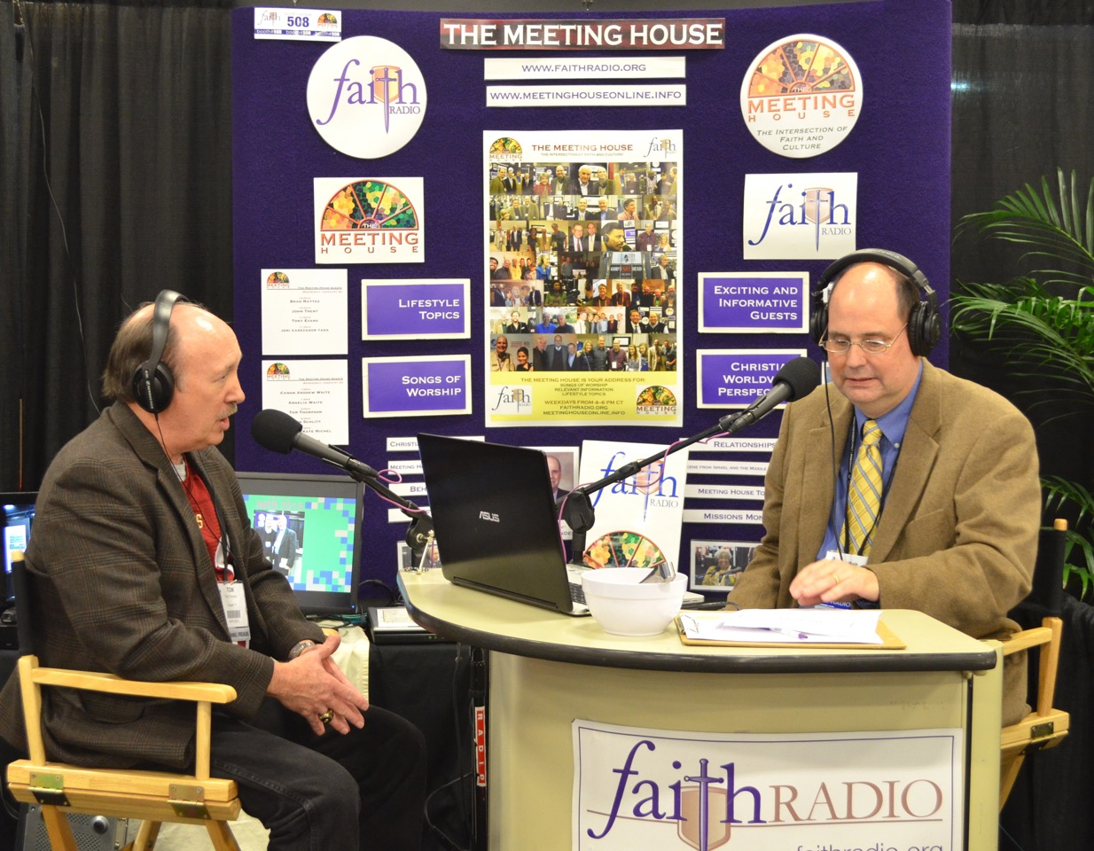 Tom w/ Bob Crittenden from The Meeting House (Faith Broadcasting)
