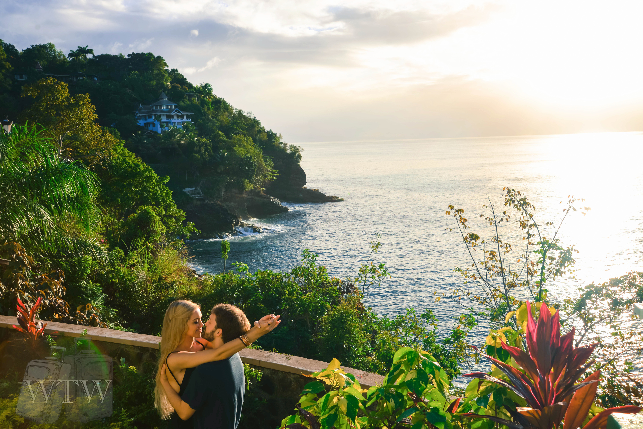 Lush bluffs and rocky cliffs give St Lucia's beaches exotic variety and views second to none!