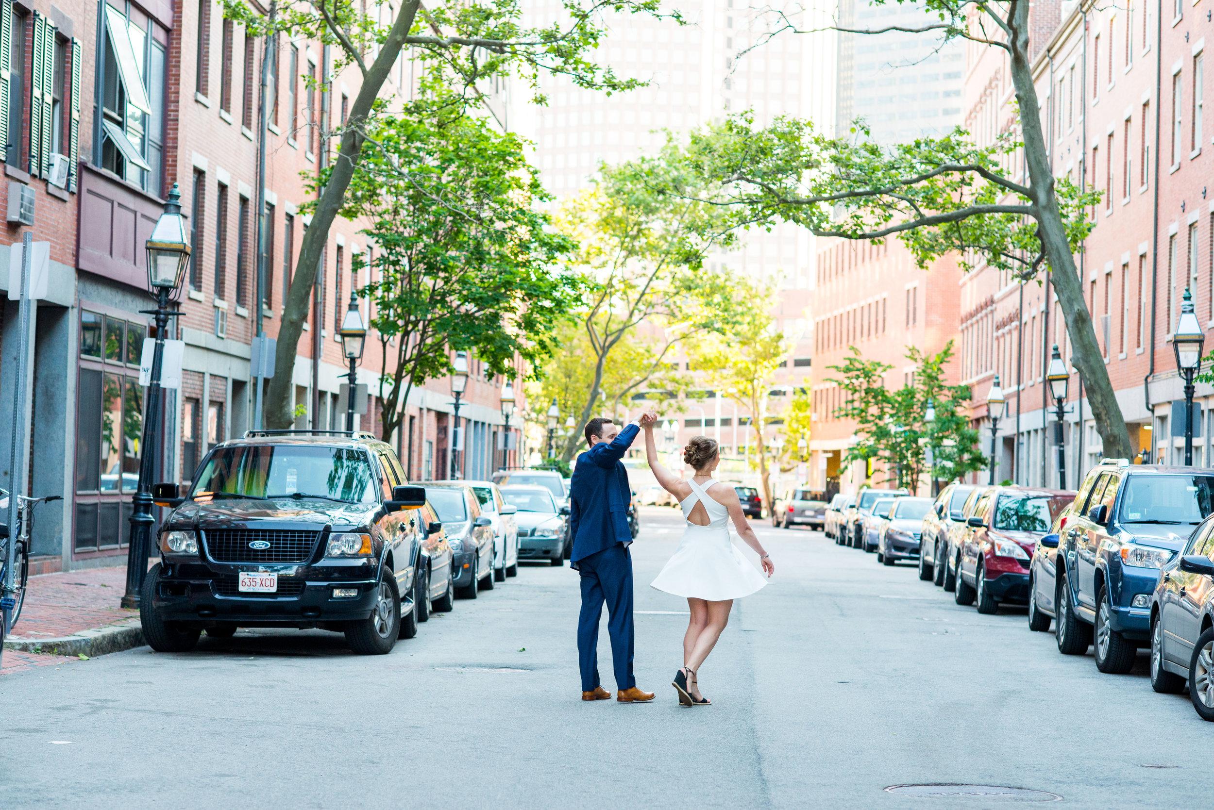 Boston Engagement Photo Session