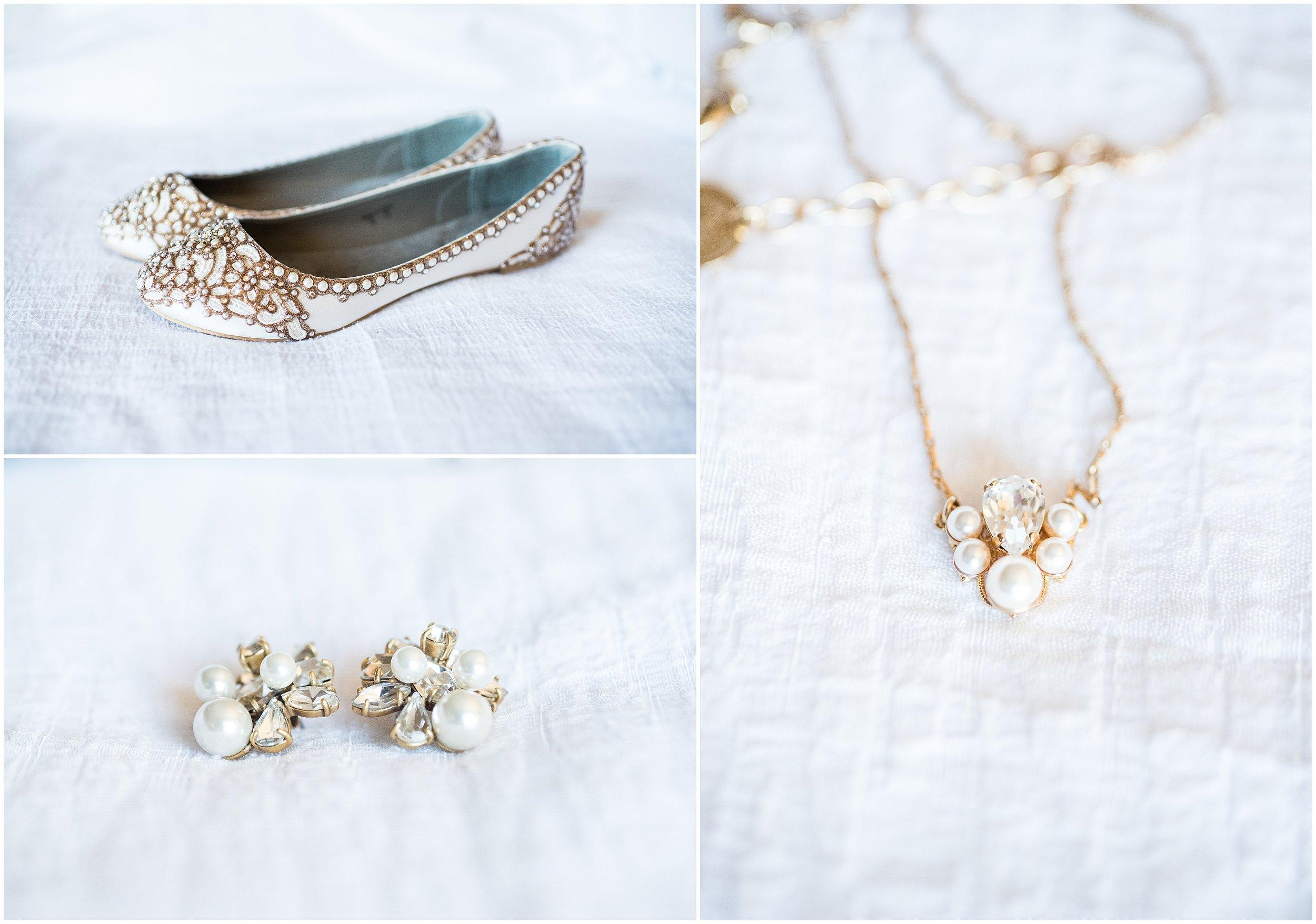 wedding shoes, earring
