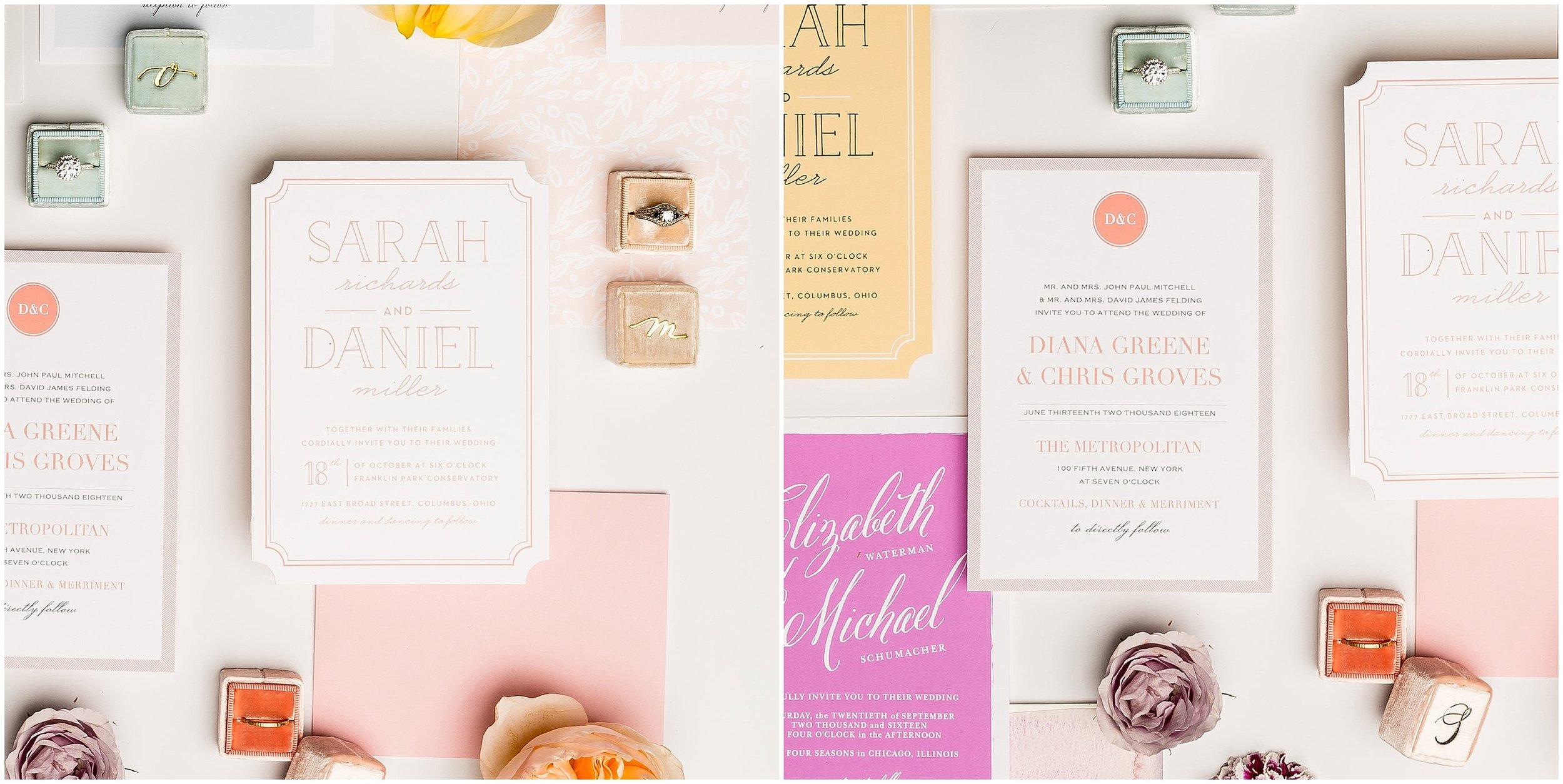 Wedding Invitations, Basic Invite - Boston Wedding Photographer