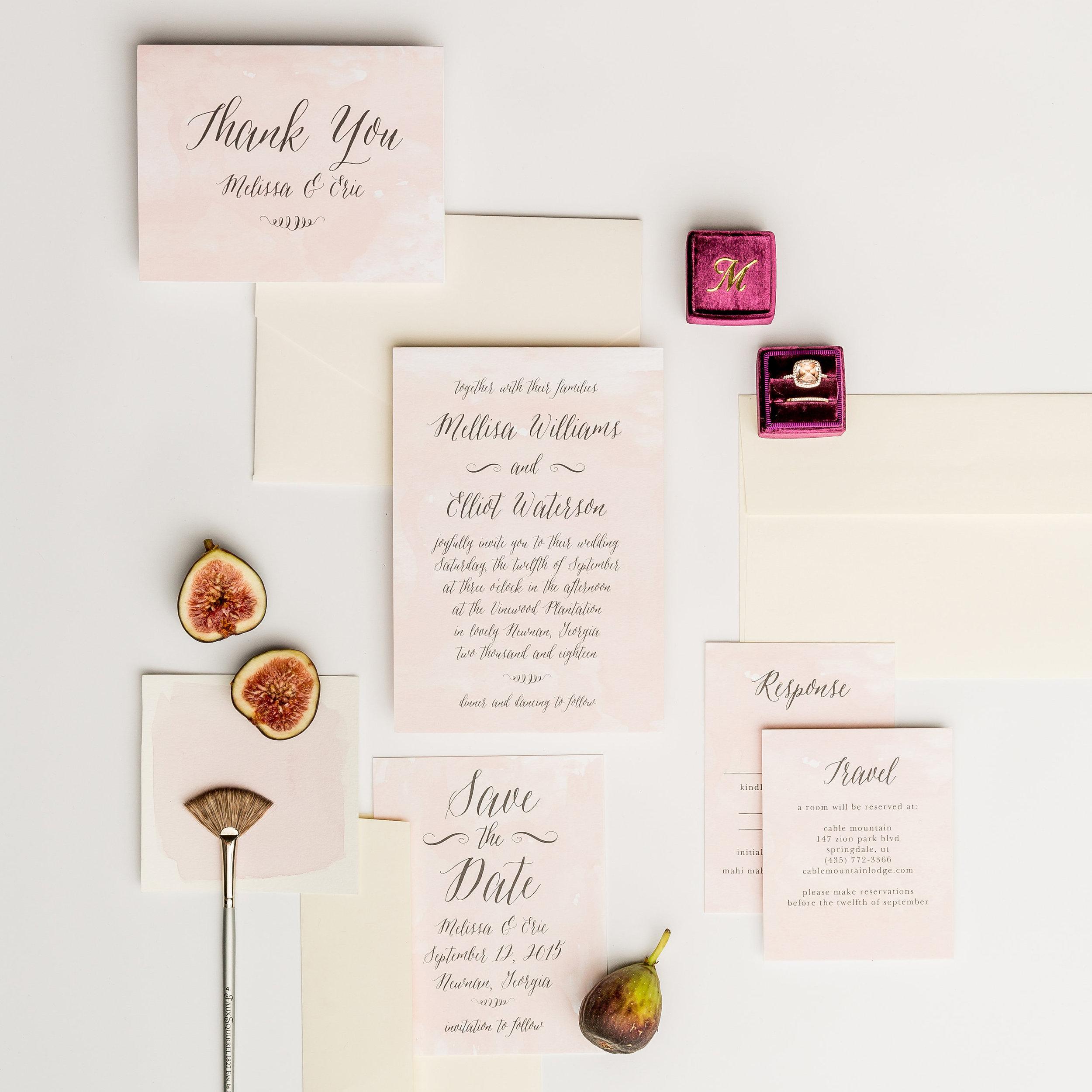 Wedding Invitations, Basic Invite, Boston Wedding Photographer