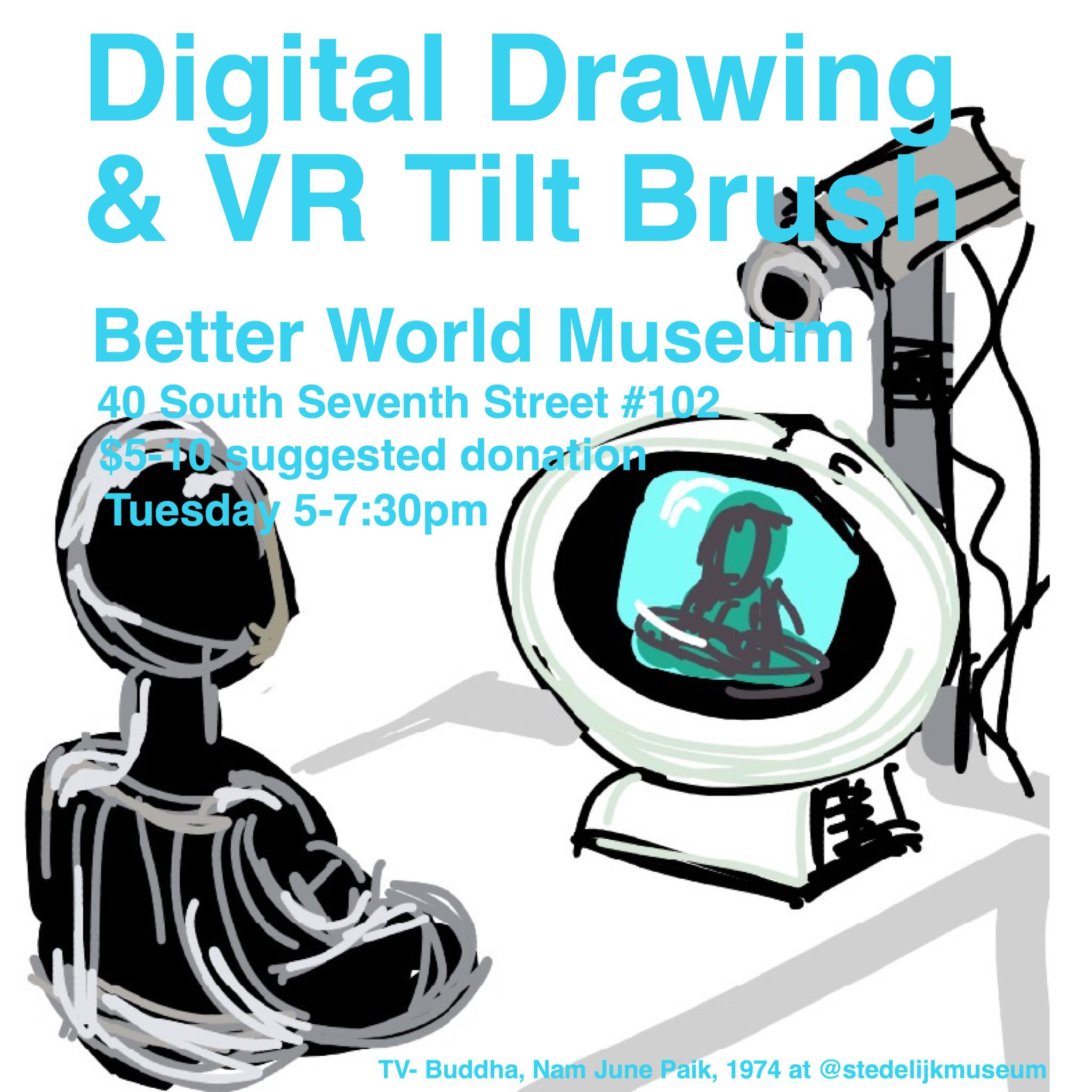 DigitalDrawingVRNight