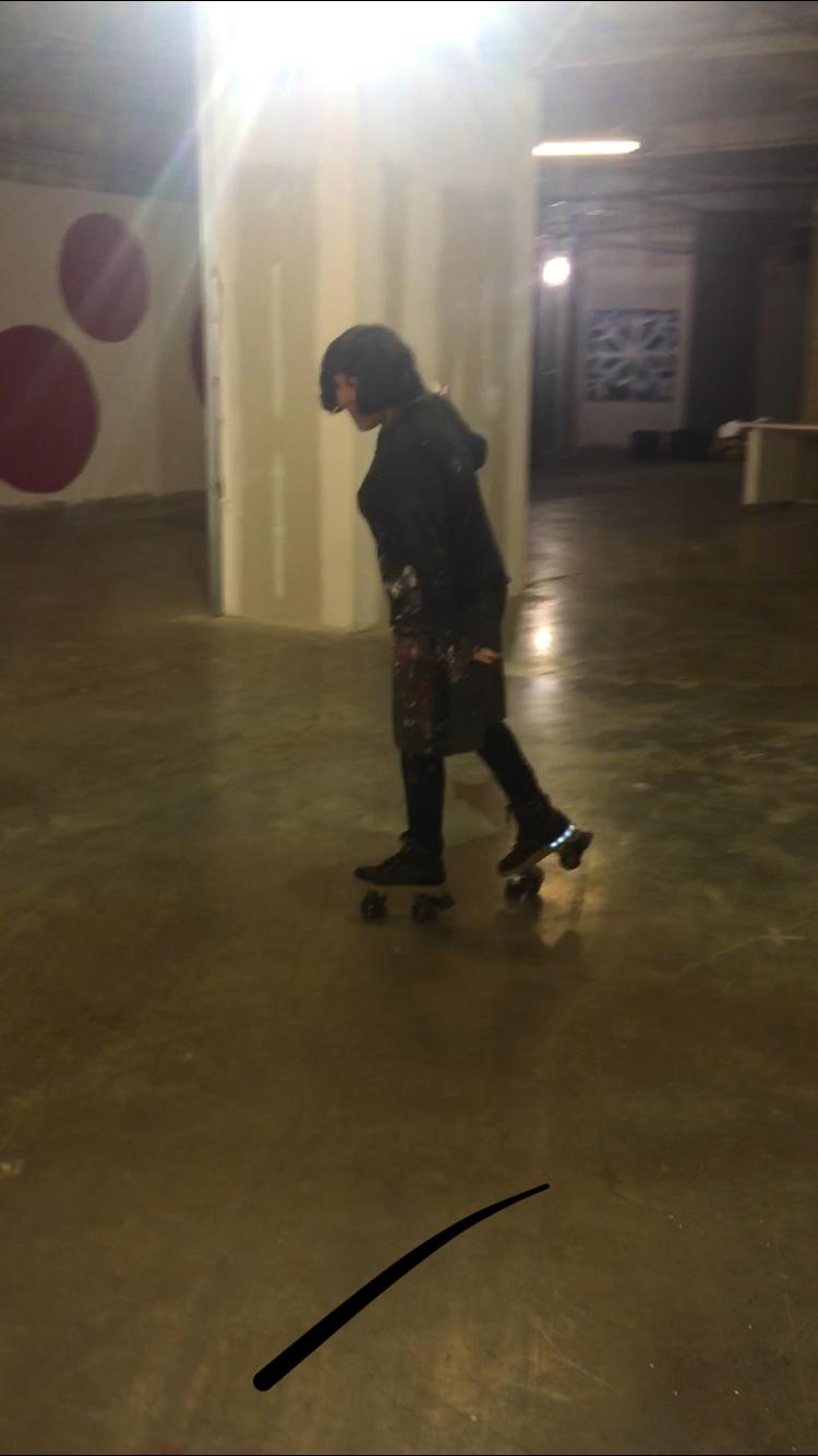 Rollerskating!