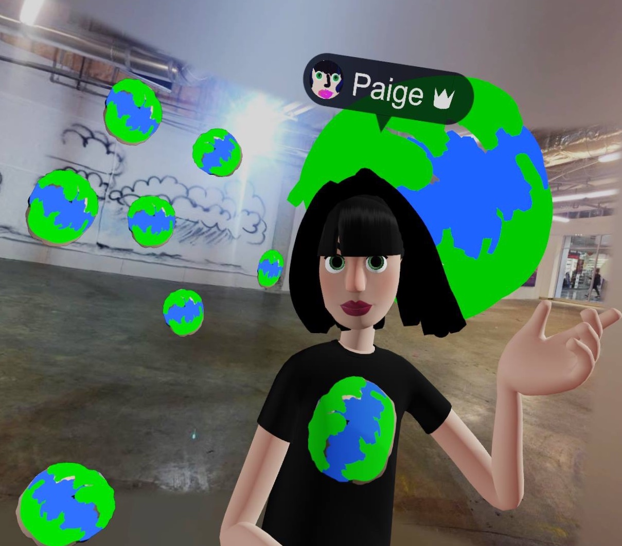 Imagining Better World Museum in VR