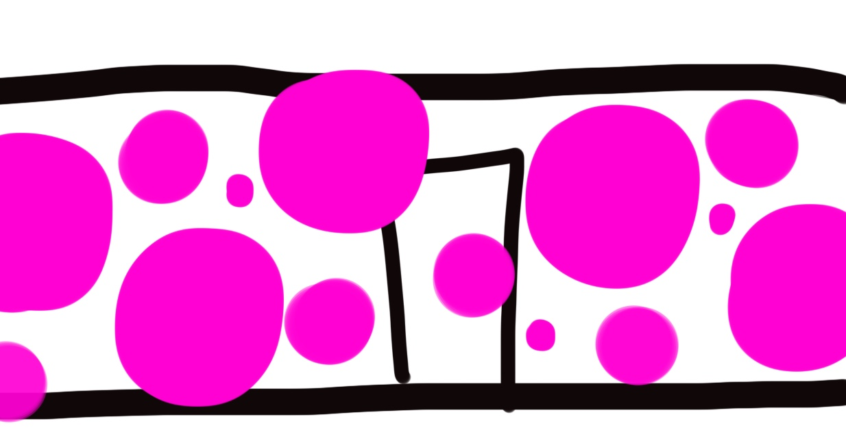 Digital sketch for Pink Dots
