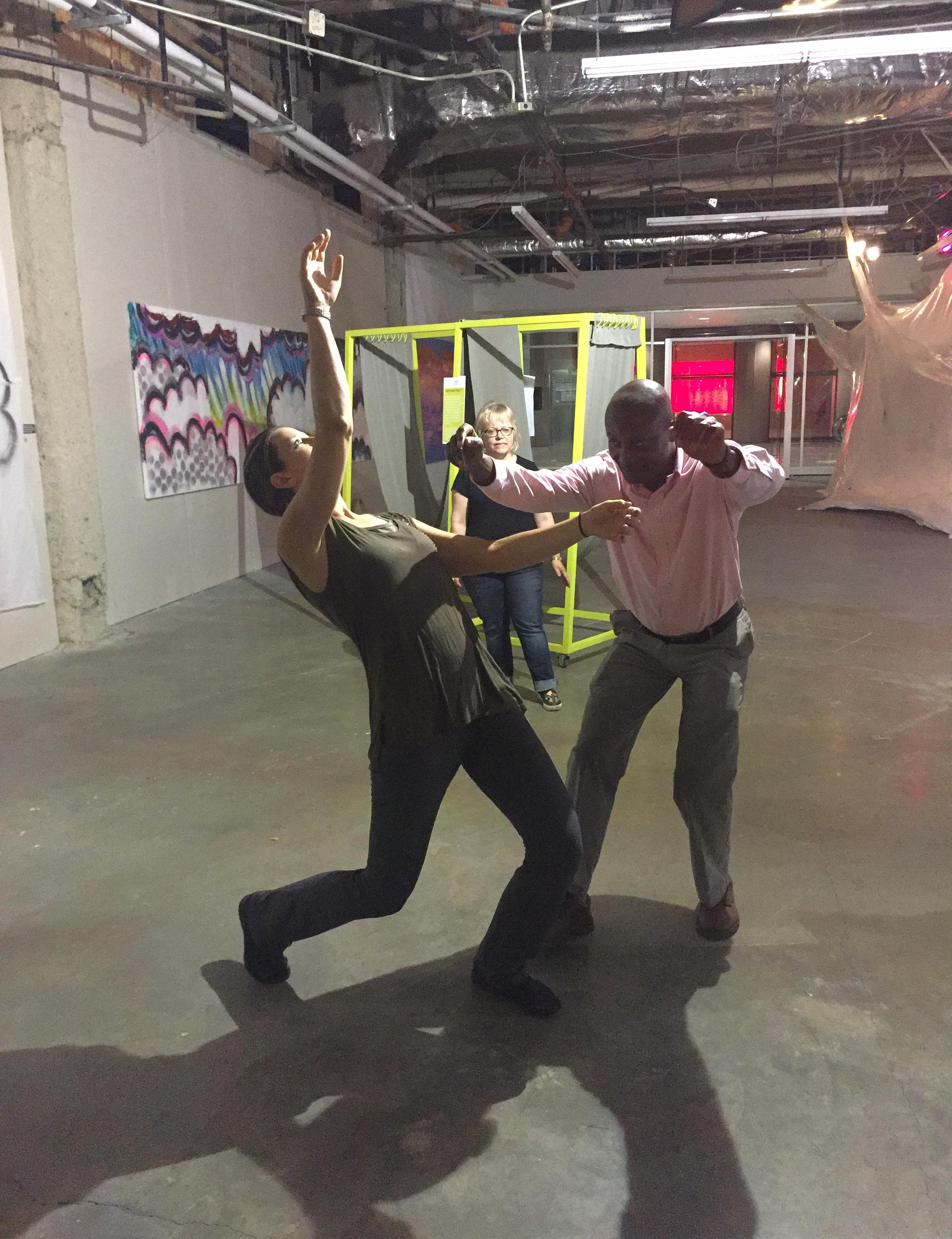 Tera Kilbride leads Freeflow Yoga + VR