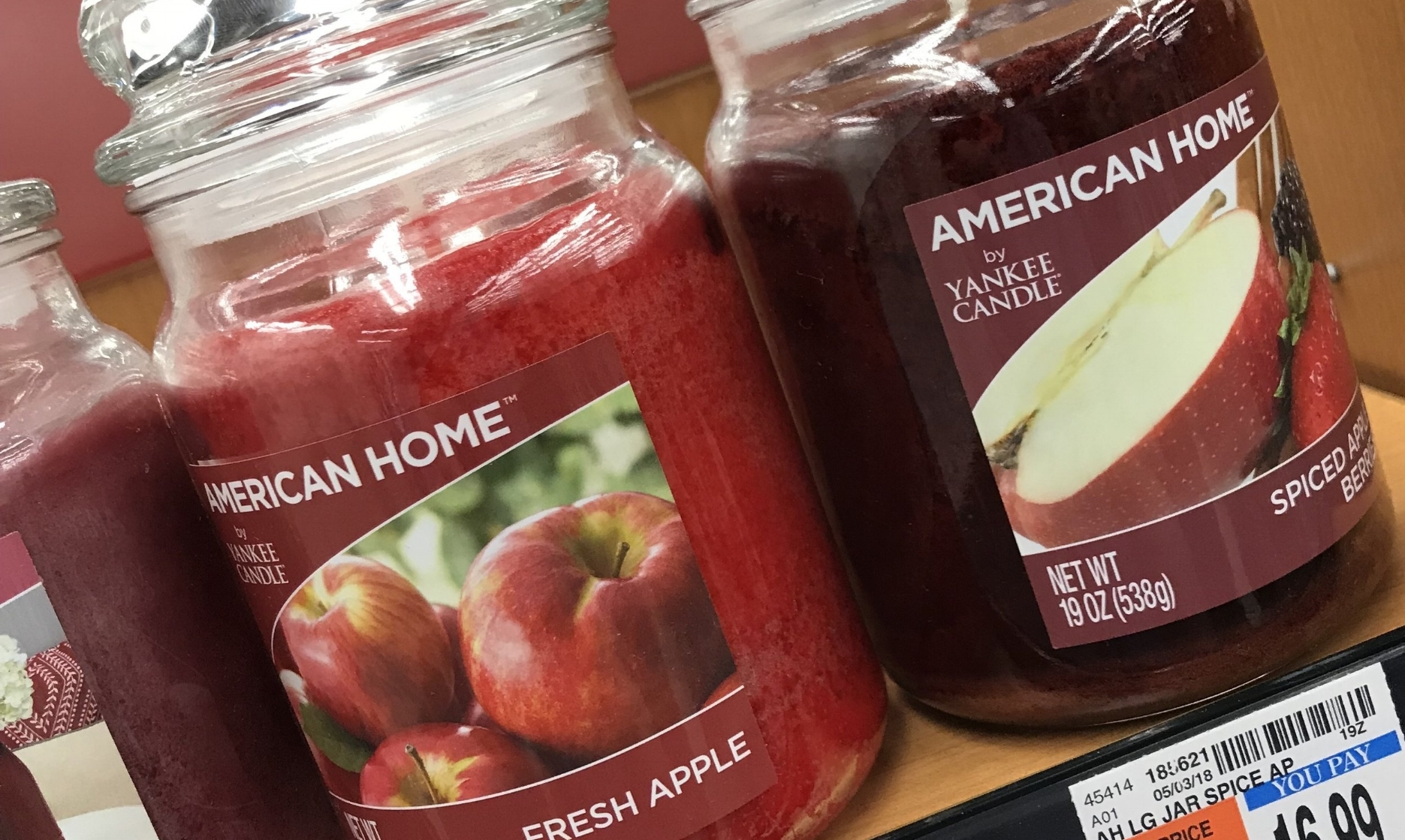"Neither exactly screams out ""sow's blood"", but I thought ""Fresh Apple"" was probably the closest."