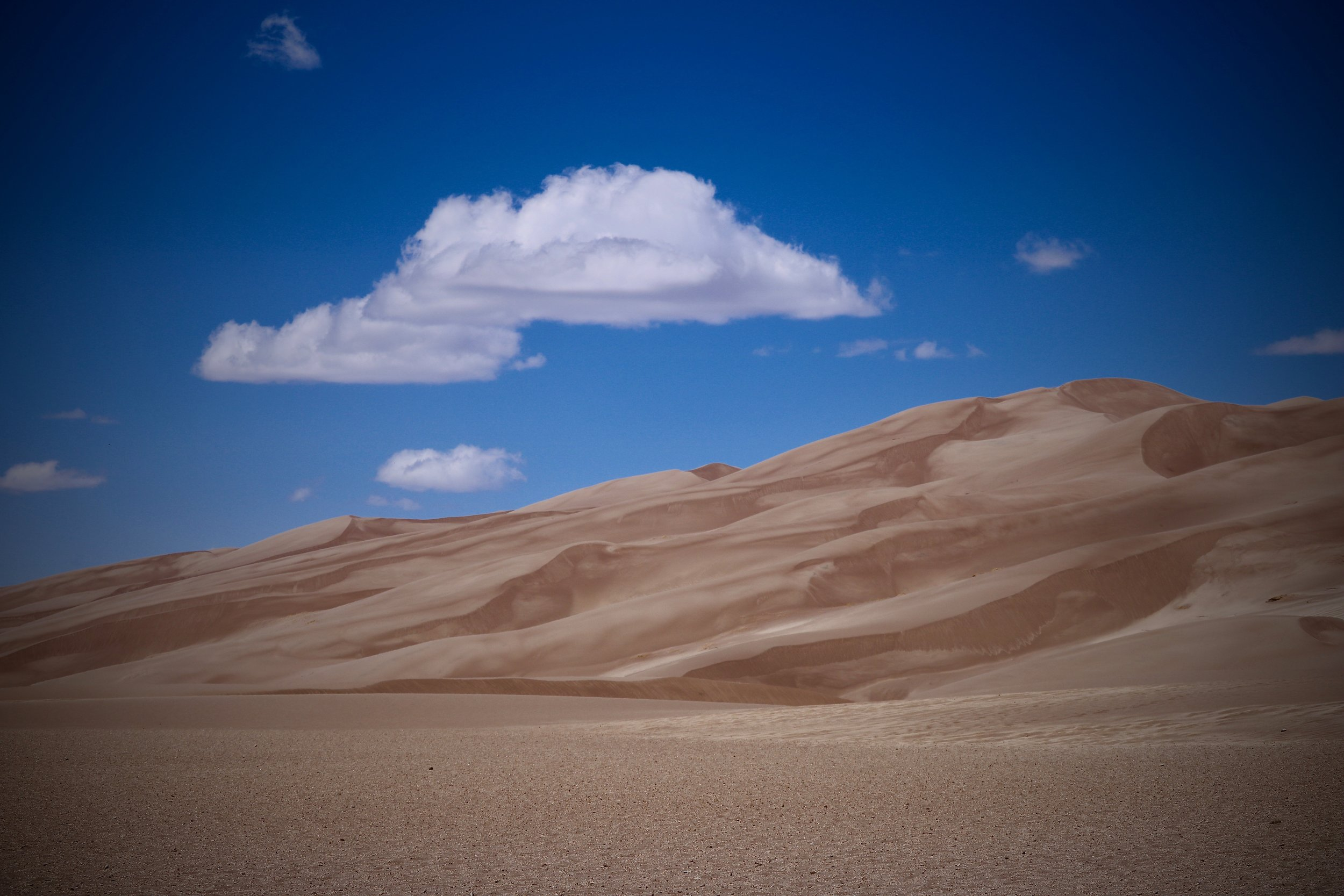 Great Sand Dunes National Park and Preserve, Colorado, USA