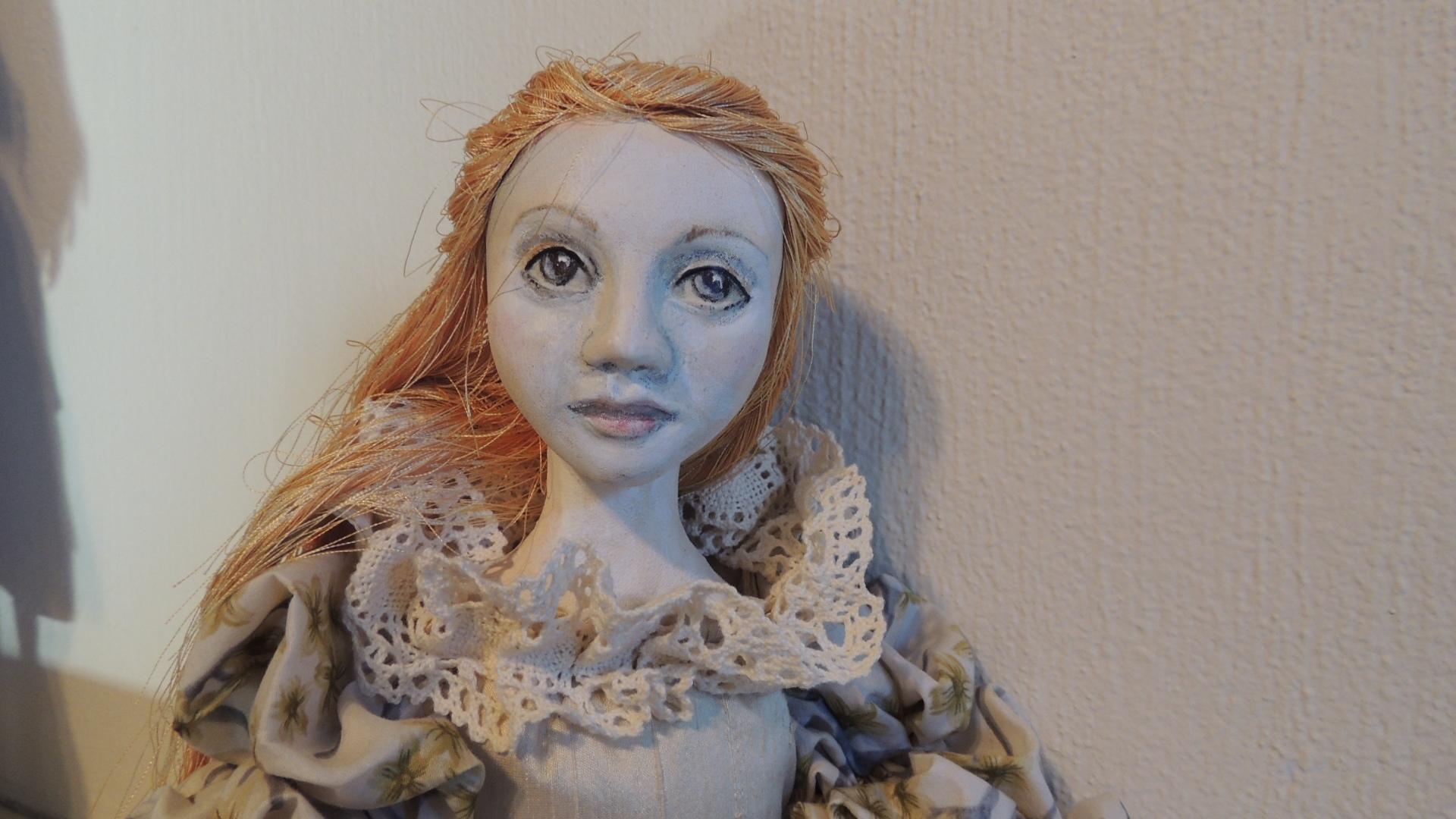 """""""Ginger,"""" yo-yo doll by Dallas Sills"""
