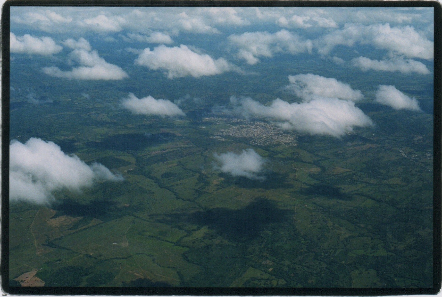 A Dominican Shadow:: The Aerial View