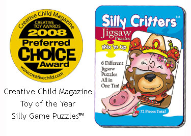 Silly Critters 2008 Creative Child Magazine Preferred Choice Award