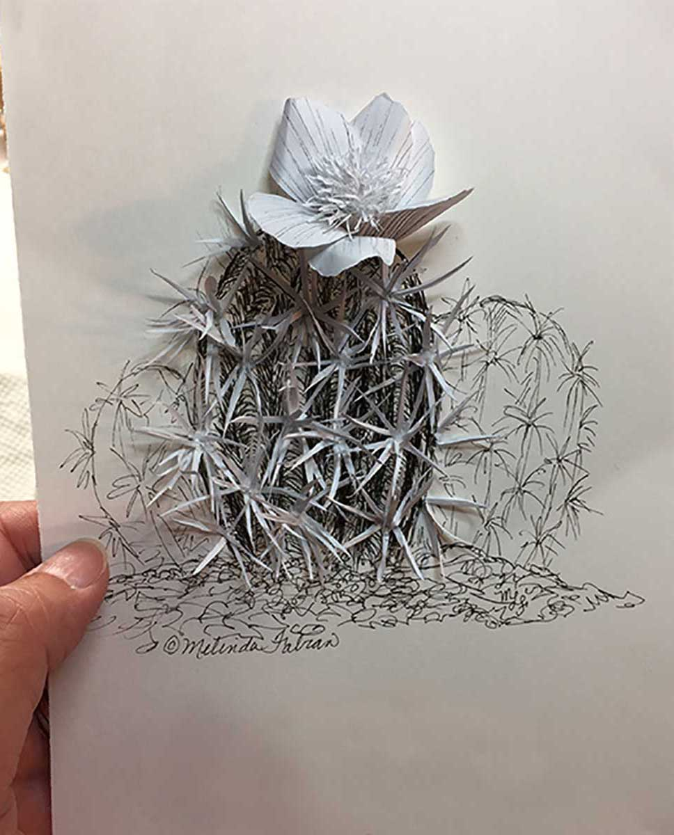 Inktober: Little Cactus