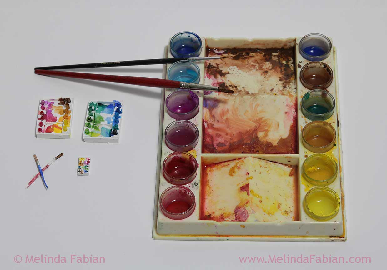 """""""My Studio"""" paint tray"""