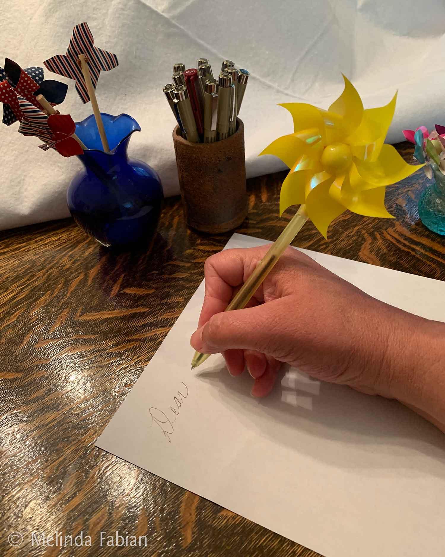 Pinwheel Pen