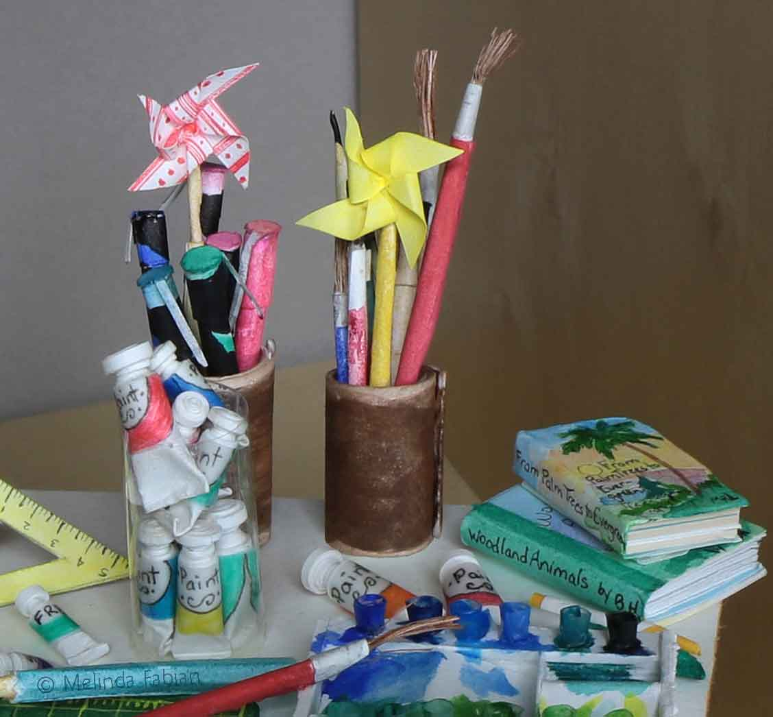 """My Studio"" pinwheels"