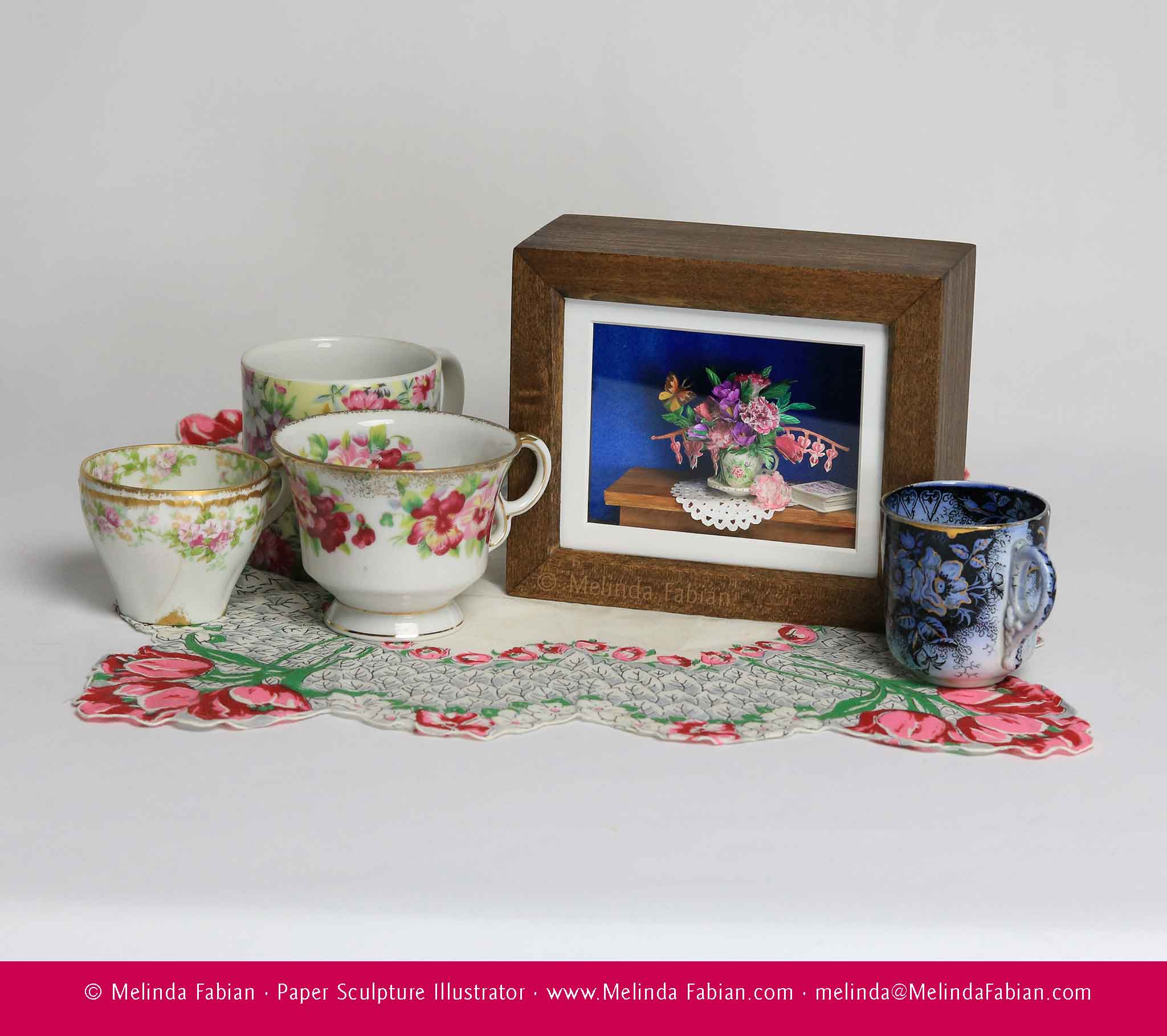 'Teacup in Spring' and Teacups