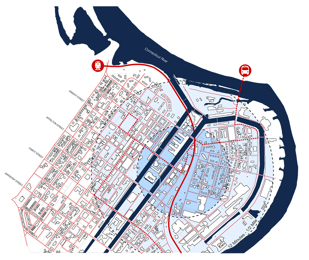 Holyoke, Massachusetts - Site Plan